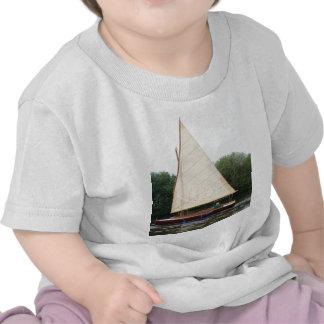 Gaff Rigged Sailing Boat T-shirts