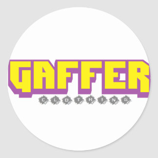 gaffer stickers 20 pack
