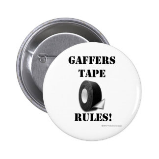 Gaffers Tape Rules Pin