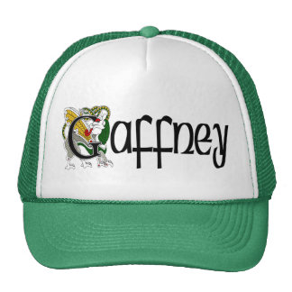 Gaffney Celtic Dragon Cap Trucker Hat