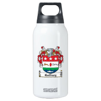 Gaffney Family Crest 10 Oz Insulated SIGG Thermos Water Bottle