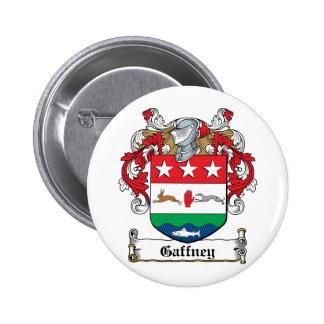 Gaffney Family Crest 2 Inch Round Button