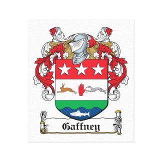 Gaffney Family Crest Canvas Print