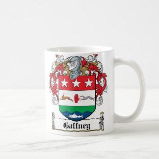 Gaffney Family Crest Classic White Coffee Mug