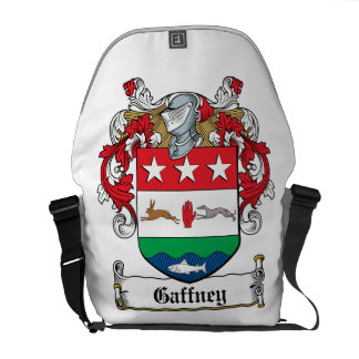 Gaffney Family Crest Courier Bag