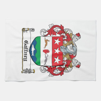 Gaffney Family Crest Hand Towels