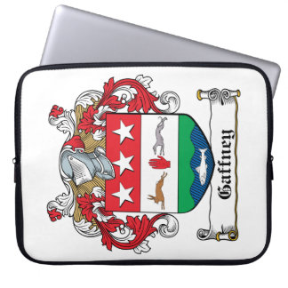 Gaffney Family Crest Laptop Sleeve