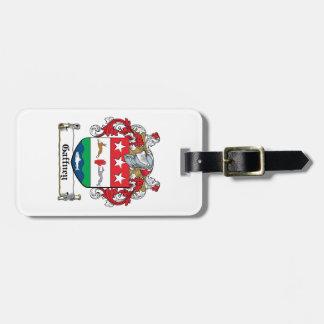 Gaffney Family Crest Luggage Tag