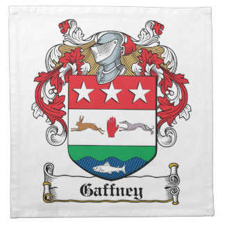 Gaffney Family Crest Napkin