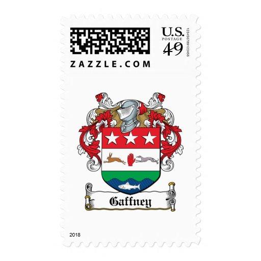Gaffney Family Crest Postage Stamp