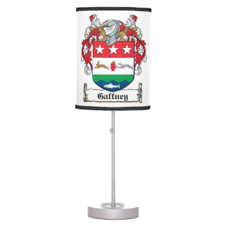 Gaffney Family Crest Table Lamps