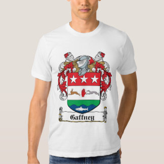 Gaffney Family Crest Tee Shirts