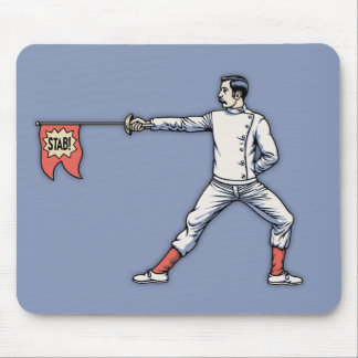 Gag Epee Mouse Pad