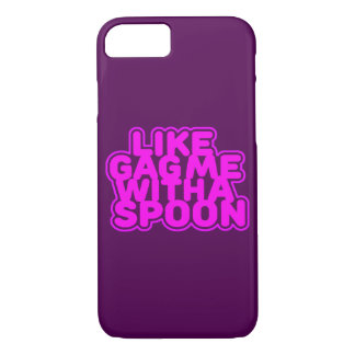 Gag Me With a Spoon iPhone 8/7 Case