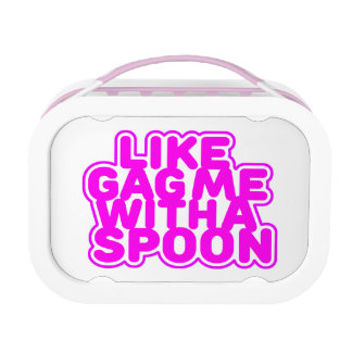 Gag Me With a Spoon Lunch Box