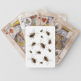 GAG PLAYING CARDS SCAREY ROACH PLAYING CARDS