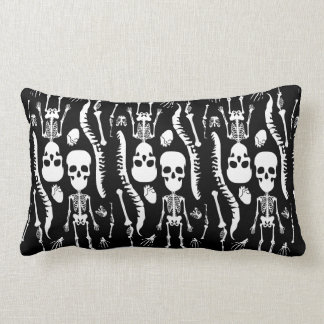 GaG Skull Head Throw Pillow - Rectangle
