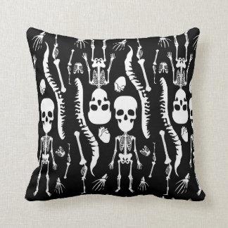 GaG Skull Head Throw Pillow - Square