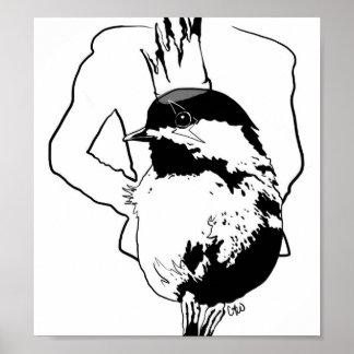 gaga bird series 1 poster