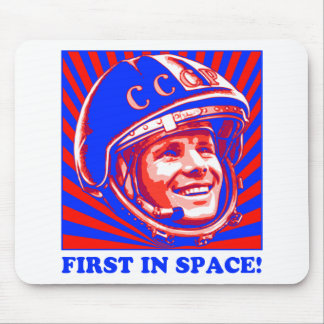 Gagarin ЮрийГагарин Mousepads