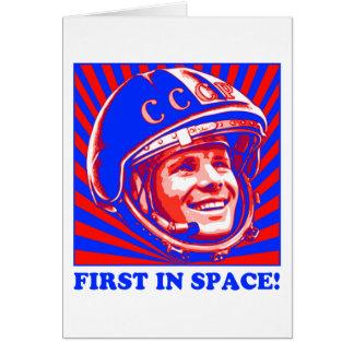 Gagarin ЮрийГагарин Tarjeta De Felicitación