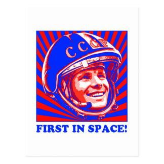 Gagarin ЮрийГагарин Tarjeta Postal