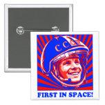 Gagarin Юрий Гагарин Button