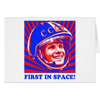 Gagarin Юрий Гагарин Greeting Cards