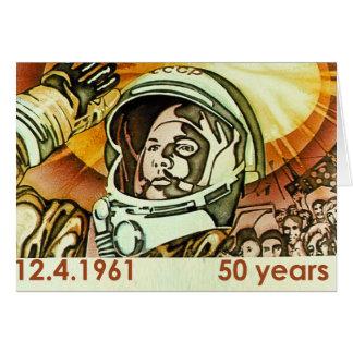 Gagarin Greeting Cards