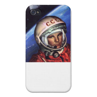 Gagarin Cosmos USSR iPhone 4 Case