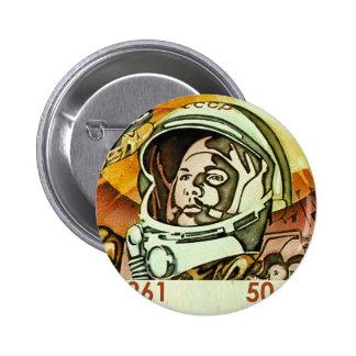 Gagarin Pinback Button