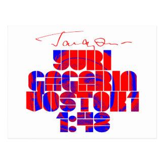 Gagarin Postcard