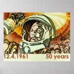 Gagarin póster de a gran escala impresiones