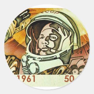 Gagarin Sticker