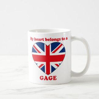 Gage Classic White Coffee Mug
