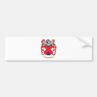 Gage Coat of Arms Family Crest Bumper Stickers