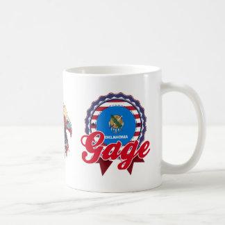 Gage, OK Classic White Coffee Mug