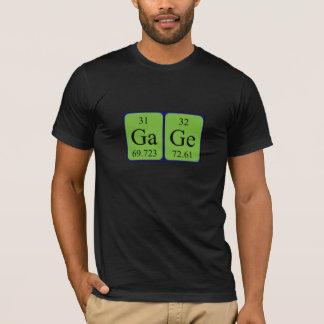 gage name. gage periodic table name shirt