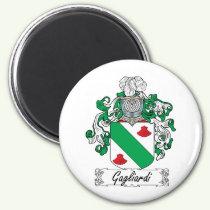 Gagliardi Family Crest Magnet