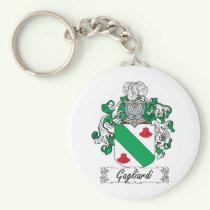 Gagliardi Family Crest Keychain