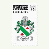 Gagliardi Family Crest Stamps