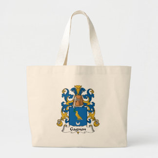 Gagnon Family Crest Large Tote Bag