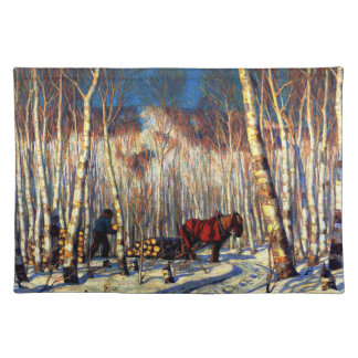 Gagnon - March in the Birch Woods Placemat