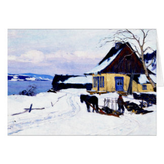 Gagnon - The Farm on the Hill Greeting Card