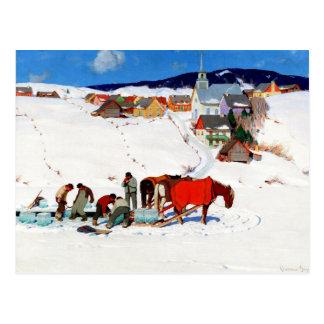 Gagnon - The Ice Harvest Postcard