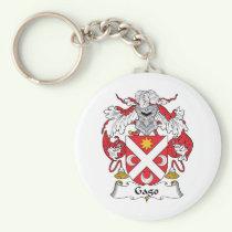 Gago Family Crest Keychain