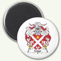 Gago Family Crest Magnet