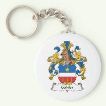 Gahler Family Crest Keychain