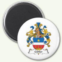 Gahler Family Crest Magnet