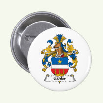 Gahler Family Crest Button